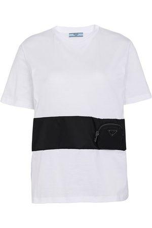 Prada T-Shirt aus Jersey