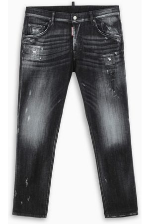Dsquared2 Washed blue cropped jeans