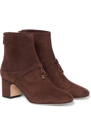 Loro Piana Ankle Boots Maxi Charms