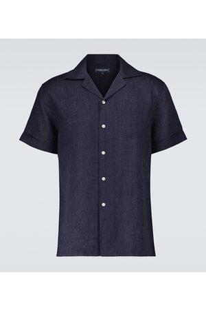 Frescobol Carioca Blusen - Revershemd Thomas aus Leinen