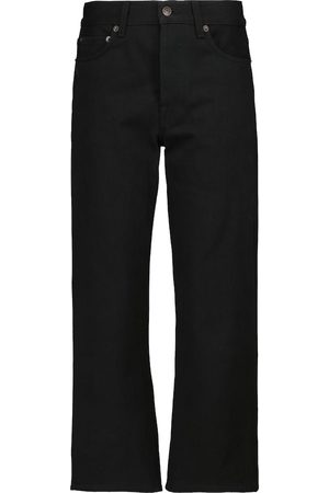The Row Mid-Rise Straight Jeans Lesley