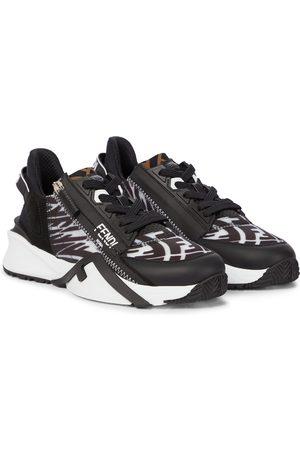 Fendi Damen Sneakers - Sneakers Fluid mit Leder