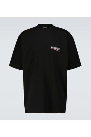 Balenciaga Weites T-Shirt Political Campaign