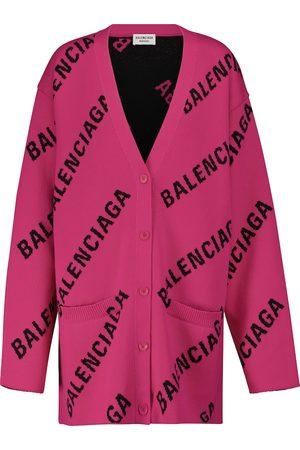 Balenciaga Damen Strickjacken - Cardigan mit Baumwollanteil