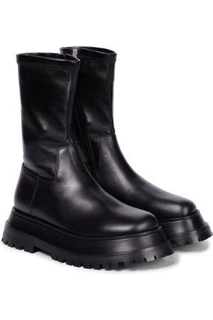 Burberry Ankle Boots aus Leder