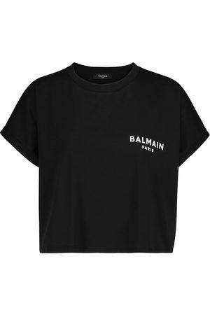 Balmain T-Shirt aus Baumwolle