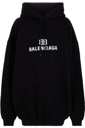 Balenciaga Hoodie aus Baumwolle