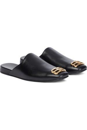 Balenciaga Slippers Cosy BB aus Leder