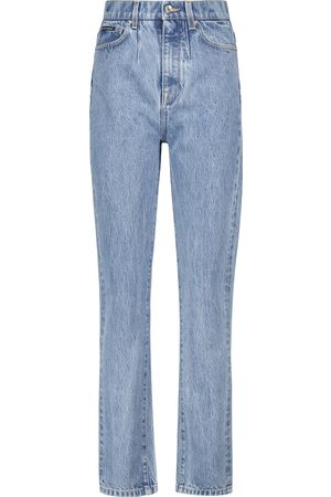 Dolce & Gabbana High-Rise Straight Cropped Jeans