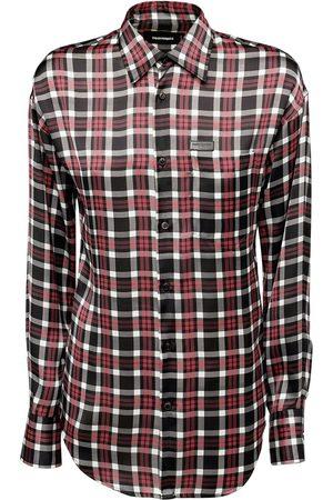 DSQUARED2 Hemd Aus Baumwolltwill Mit Karodruck