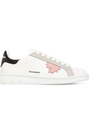 Dsquared2 20mm Hohe Sneakers Aus Leder