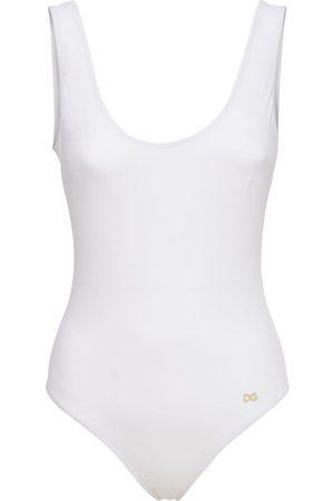 DOLCE & GABBANA Damen Badeanzüge - Badeanzug Aus Lycra Mit Logo