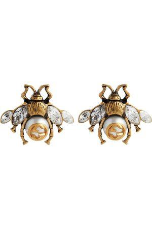 Gucci Ohrringe Bee mit Kristallen