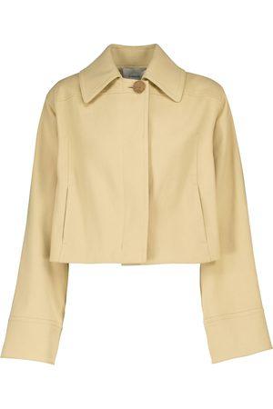 Vince Damen Jacken - Cropped-Jacke aus Baumwolle