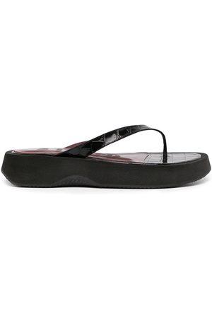 Staud Damen Sandalen - Tessa Flatform-Sandalen mit Zehensteg