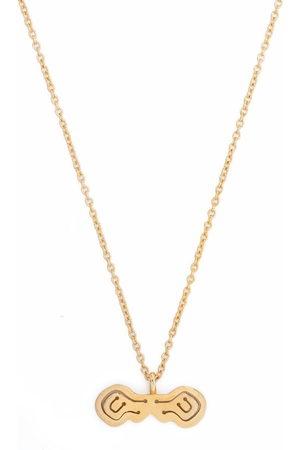 KAY KONECNA Damen Halsketten - Halskette mit Pia Toggle Bar-Anhänger