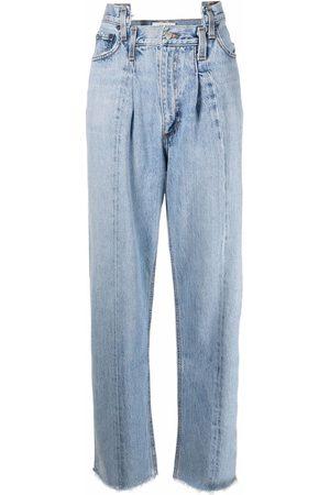 AGOLDE Damen Straight - Pieced Angled straight-leg jeans