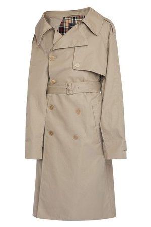 Balenciaga Damen Trenchcoats - Trenchcoat Offshoulder