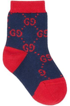 Gucci Baby Socken & Strümpfe - Babysocken aus Baumwolle mit GG