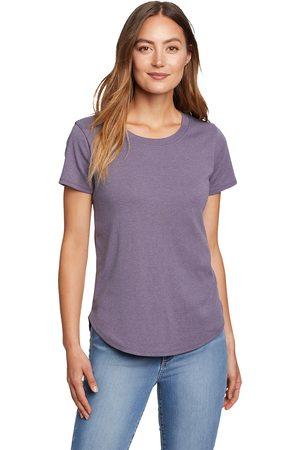 Eddie Bauer Favorite T-Shirt mit gerundetem Saum Damen Gr. XS