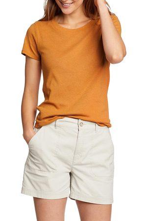 Eddie Bauer Damen Shirts - Favorite T-Shirt mit gerundetem Saum Damen Gr. XS