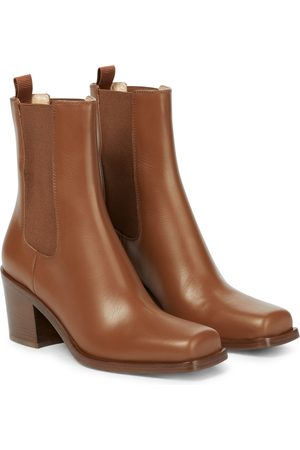 Gianvito Rossi Damen Stiefeletten - Ankle Boots Barr aus Leder