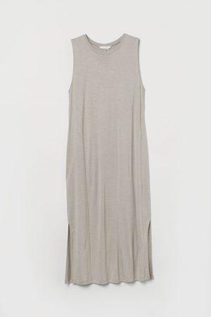 H & M Ärmelloses Jerseykleid