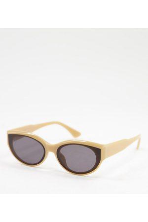 Jeepers Peepers – Cateye-Sonnenbrille für Damen in mattem , exklusiv bei ASOS