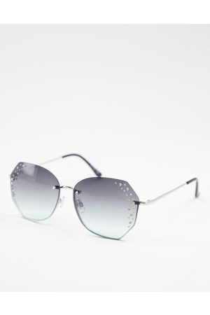 Jeepers Peepers – Runde Damen-Sonnenbrille in