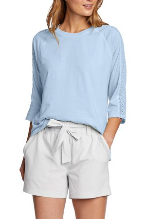 Eddie Bauer Damen Shirts - Ophelia Shirt - 3/4-Arm Damen Gr. XS