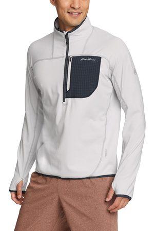 Eddie Bauer Herren Shirts - High Route Grid Fleeceshirt Herren Gr. S