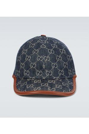 Gucci Hüte - Baseballcap GG aus Denim