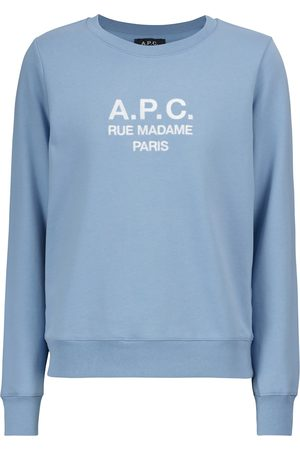 A.P.C. Logo-Sweatshirt Tina aus Baumwolle