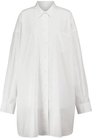 Maison Margiela Oversize-Hemdblusenkleid