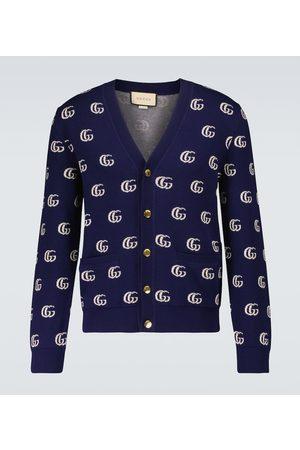Gucci Cardigan GG aus Baumwoll-Jacquard