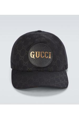 Gucci Hüte - Baseballcap GG aus Canvas