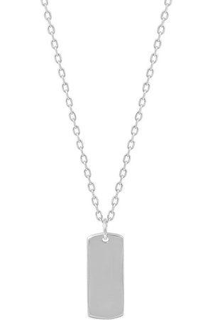 Momentoss Filo Halsketten - Halskette - Gravurplatte rechteck - 21700056