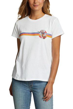 Eddie Bauer Damen Shirts - T-Shirt - Chest Stripe Damen Gr. XS