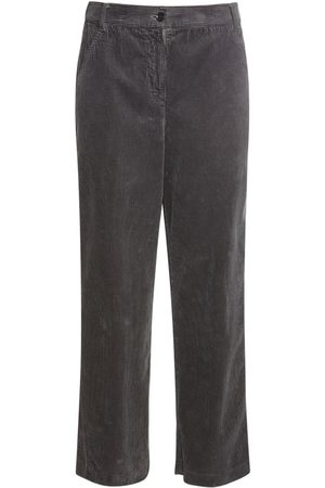 Aspesi Damen Hosen & Jeans - Cotton Corduroy Cropped Pants