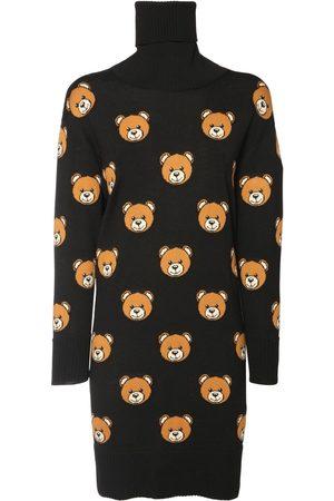 MOSCHINO Kleid Aus Wollstrick
