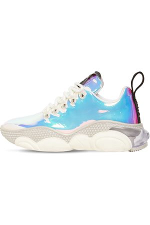 """Moschino Damen Sneakers - 30 Mm Hohe Sneakers """"teddy Hologram"""""""
