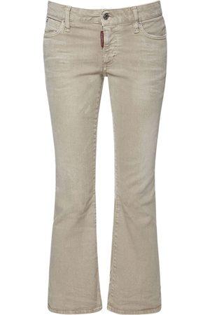 Dsquared2 Jeans Aus Denim Mit Schlag