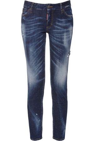Dsquared2 Enge Jeans Aus Baumwolldenim