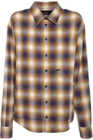 Dsquared2 Hemd Aus Baumwolle Mit Karos