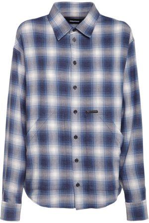 Dsquared2 Damen Blusen - Hemd Aus Baumwolle Mit Karos