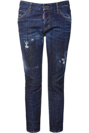 "Dsquared2 Mädchen Cropped - Jeans Aus Denim ""cool Girl"""