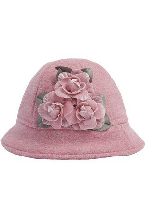 MONNALISA Mädchen Hüte - Wollmischhut Mit Blumenbesatz