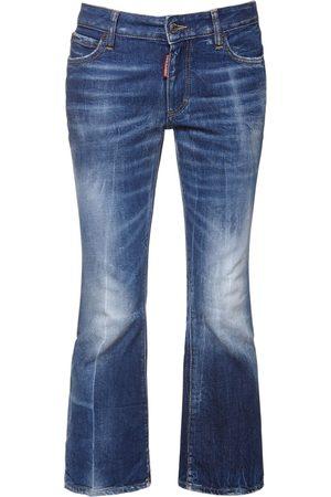 Dsquared2 Kürzere Jeans Aus Baumwolldenim