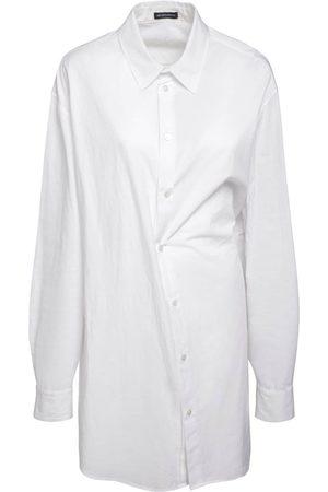 """ANN DEMEULEMEESTER Damen Blusen - Oversized Bluse Aus Baumwollpopeline """"do"""""""