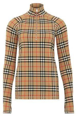 Burberry Damen Longsleeves - Langarm-T-Shirt